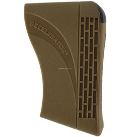 Pachmayr Pachmayr 04418 Decelerator Slip-on Recoil Pad Brown Small