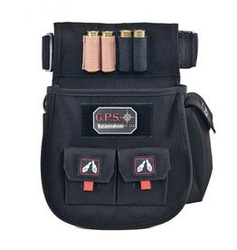 G.P.S. GPS-1093CSP Deluxe Shell Pouch Black