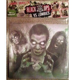 Black Ops Black Ops vs. Zombies Paper Targets 20ct - 4 designs (5 of each)