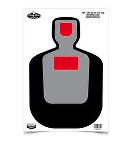 "Birchwood Casey Dirty Bird Target 12""X18"" BC19 Silhouette Splattering Target"