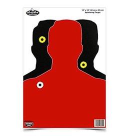 "Birchwood Casey Dirty Bird Target 12""X18"" Silhouette III Splattering Target"