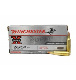 Winchester Winchester SUPER-X 22-250 REM 55GR JSP 20/Box