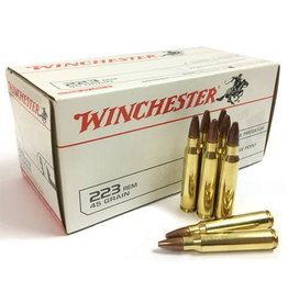 Winchester Winchester Jacketed Hollow Point Ammo 223 REM 45GR 50/BX