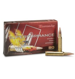 Hornady HORNADY SUPERFORMANCE AMMO 6MM REM 95GR SST SPF 20/BX
