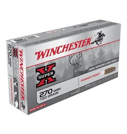 Winchester WINCHESTER SUPER-X AMMO DEER, ANTELOPE & WILD BOAR 270 WSM 150GR POWER POINT 20/BX