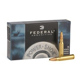 Federal Ammunition FEDERAL AMMUNITION POWER-SHOK 270 WSM 130GR SP 20/BX