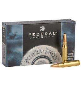 Federal Ammunition FEDERAL AMMUNITION POWER-SHOK 7MM REM MAG 175GR SP 20/BX