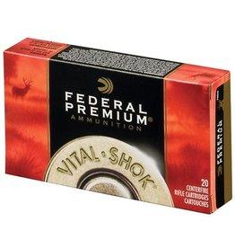 Federal Ammunition FEDERAL PREMIUM AMMUNITION VITAL SHOK 280 REM 150GR, NOSLER PARTITION 20/BX