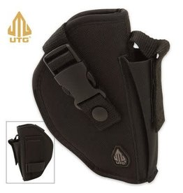 UTG Deluxe Commando Belt Holster - Black - RH