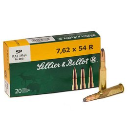 Sellier & Bellot SELLIER & BELLOT 7.62X54R 180GR SP 20/BX