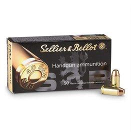 Sellier & Bellot SELLIER & BELLOT HANDGUN AMMO .40 S&W FMJ 180GR. 50/BX