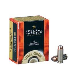 Federal Ammunition FEDERAL PREMIUM AMMO VITAL-SHOK 10MM AUTO 180GR TROPHY BONDED JSP 20/BX