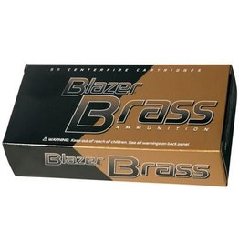 Blazer Ammunition BLAZER BRASS AMMO 357 MAG 158GR JHP 50RD/BX