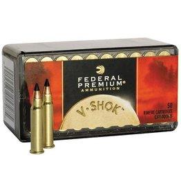 Federal Ammunition FEDERAL PREMIUM AMMO V-SHOK 17 HMR 17GR V-MAX 50/BX