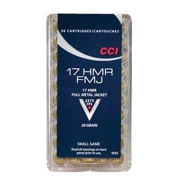 CCI CCI 17HMR 20GR FMJ 50/BX