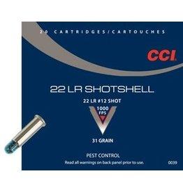 CCI CCI 22LR SHOTSHELL 31GR 20/BX