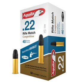 AGUILA AGUILA 22 RIFLE MATCH COMPETITION 40GR 50/BX