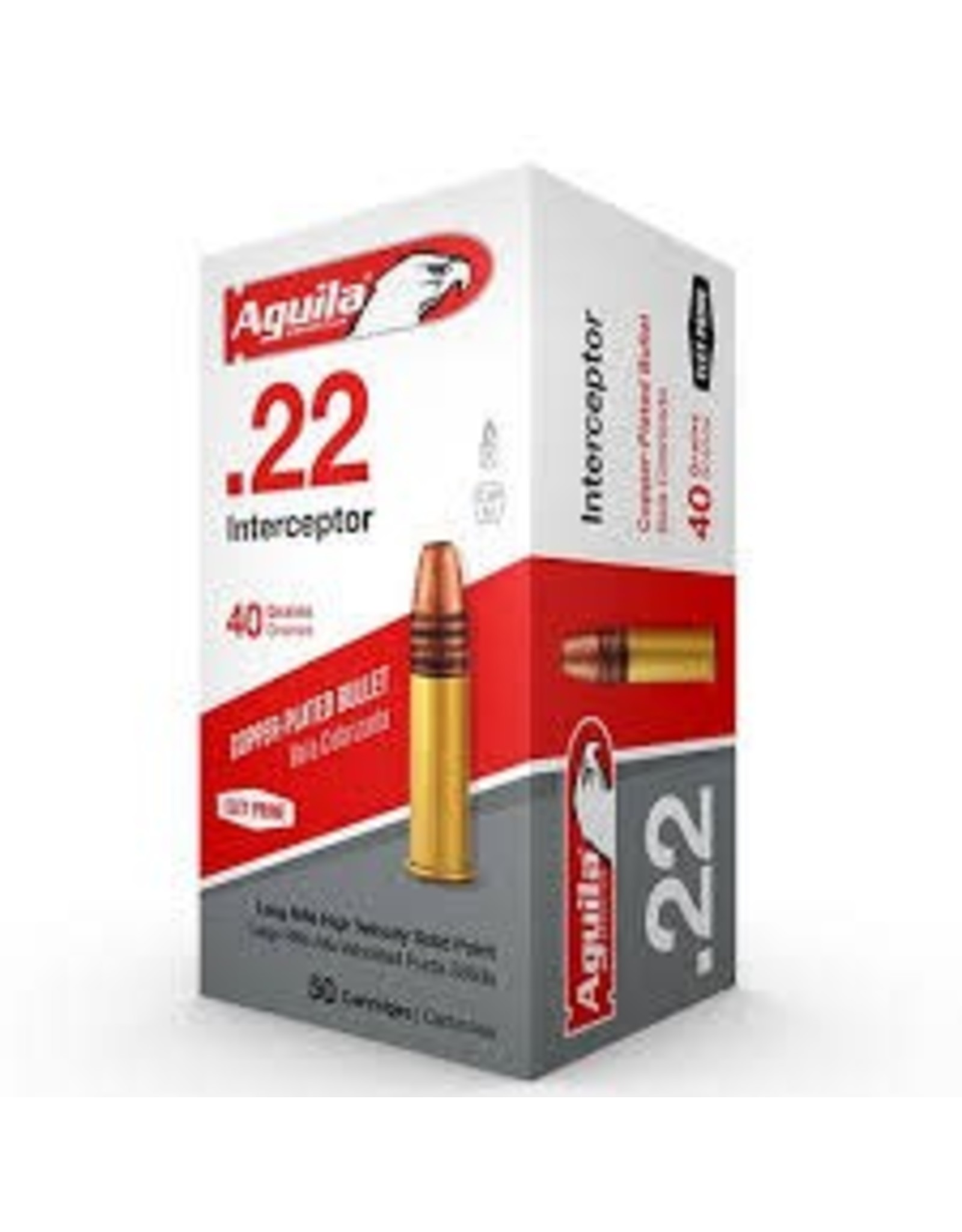 AGUILA Aguila 22LR Interceptor SP 40gr