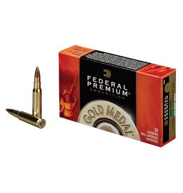 Federal Ammunition FEDERAL PREMIUM AMMO GOLD MEDAL 308 WIN SIERRA MATCHKING 168GR BTHP 20/BX