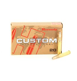 Hornady HORNADY CUSTOM INTERNATIONAL AMMO 308 WIN INTERLOCK RN 220GR 20/BX