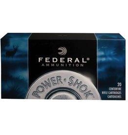 Federal FEDERAL AMMO POWER-SHOK 30-30 WIN 170GR SOFT POINT RN 20/BX