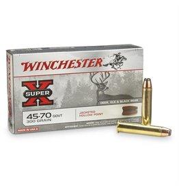 Winchester WINCHESTER SUPER-X AMMO 45-70 GOV 300GR JHP 20/BX