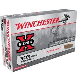 Winchester WINCHESTER AMMO SUPER-X 303 BRITISH 180GR PP 20/BX
