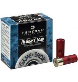 """Federal FEDERAL GAME-SHOK HI-BRASS LOAD .410GA 1/2OZ 7.5 SHOT 2 1/2"""" LENGTH 25/BX"""