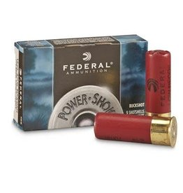 Federal FEDERAL PREMIUM AMMUNITION POWER-SHOK 12GA 2.75IN MAX 8PELLETS 000BUCK 5/BX