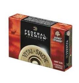Federal Ammunition FEDERAL AMMO VITAL-SHOK 20GA 2.75IN 275GR TROPHY COPPER SABOT SLUG 5/BX