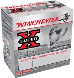 Winchester WINCHESTER SUPERX WATERFOWL XPERT HIGH VELOCITY STEEL SHOT 12GA 2 3/4IN 1 1/16OZ 4 SHOT 25/BX