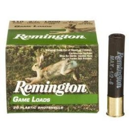 REMINGTON AMMUNITION REMINGTON GAME LOAD 16GA 2 3/4IN 1 OZ. 6 SHOT 25/BX    25/10