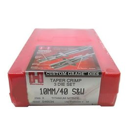 Hornady HORNADY 3-DIE SET TAPER CRIMP 10MM/40 S&W
