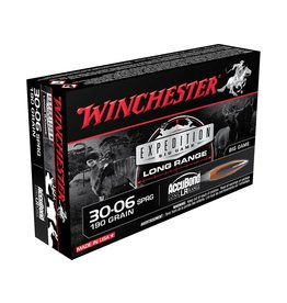 WINCHESTER AMMO WINCHESTER EXPEDITION BIG GAME LONG RANGE AMMO 30-06 SPRG 190GR 20/BX