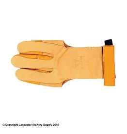 LAS (Lancaster) Bearpaw Leather Classic Shooting Glove - Small