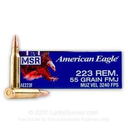 American Eagle FEDERAL AMERICAN EAGLE 223REM-55 FMJ
