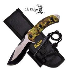 "Elk Ridge Elk Ridge ER-537CA FIXED BLADE KNIFE 9.25"" OVERALL"