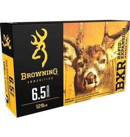 Browning BROWNING AMMO 6.5 CREEDMOOR 129 gr BXR RAPID EXPANSION MATRIX TIP