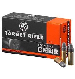 RWS RWS AMMO TARGET RIFLE SPORT LINE 22LR 40GR 50/BOX