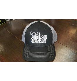 Bronson & Bronson Black/Silver Mesh Hat o/s