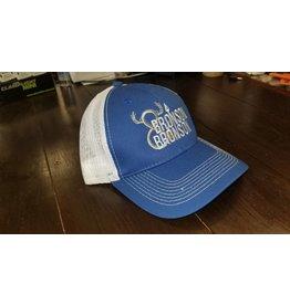 Bronson & Bronson Blue/White Mesh Hat o/s