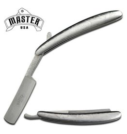 Master Cutlery Master Cutlery Razor Blade Knife - Silver