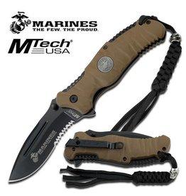 MTech Usa U.S. Marines by MTech USA USA M-1020BT FOLDING KNIFE