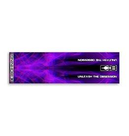"BOHNING CO LTD Blazer Wrap 4"" Purple X-Ray HD"