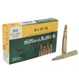 Sellier & Bellot Sellier and Bellot 8x57JS 196Gr SPCE