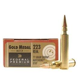 Federal Federal Premium 5.56 77Gr Sierra Matchking BTHP