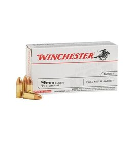 Winchester Winchester 9mm 115Gr 50Ct
