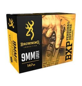BROWNING - AMMUNITION Browning BXP PD 9MM LUG 147 JHP 20