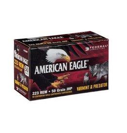 Federal Ammunition Federal American Eagle VARM/PRED 223 REM 50GR JHP 50RD/BX