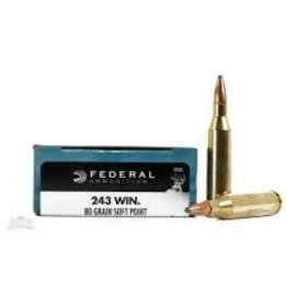 Federal FEDERAL 243 80GR SHSP POWER-SHOK